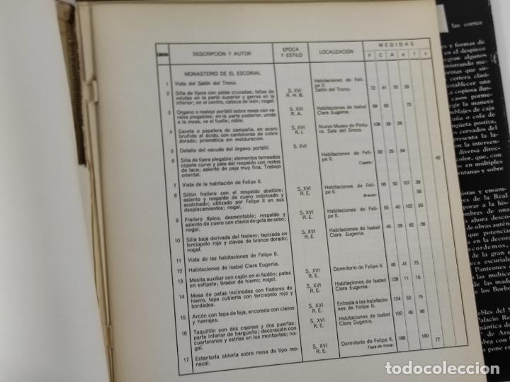 Libros de segunda mano: Colecciones Reales de España El Mueble - L. Feduchi - Editorial Patrimonio Nacional - Año 1965 - Foto 12 - 237250875