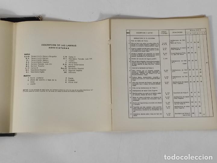 Libros de segunda mano: Colecciones Reales de España El Mueble - L. Feduchi - Editorial Patrimonio Nacional - Año 1965 - Foto 14 - 237250875