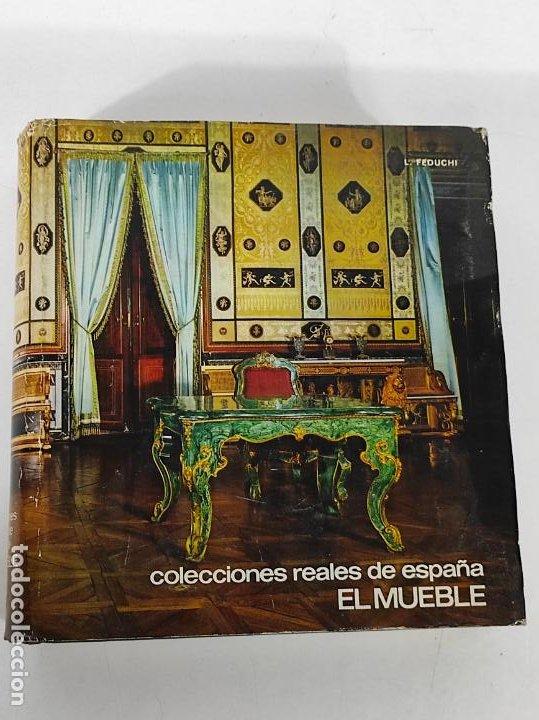 Libros de segunda mano: Colecciones Reales de España El Mueble - L. Feduchi - Editorial Patrimonio Nacional - Año 1965 - Foto 18 - 237250875