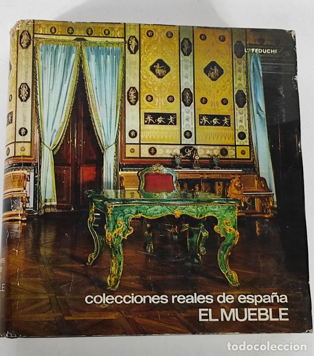 COLECCIONES REALES DE ESPAÑA EL MUEBLE - L. FEDUCHI - EDITORIAL PATRIMONIO NACIONAL - AÑO 1965 (Libros de Segunda Mano - Bellas artes, ocio y coleccionismo - Otros)