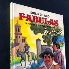 Libros de segunda mano: SIGLO DE ORO - FÁBULAS / ROMANCES Y CUENTOS CASTELLANOS / ED. SUSAETA 1985 / SIN USAR. Lote 237338940