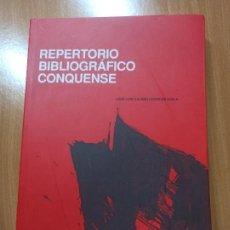 Libros de segunda mano: LIBRO CUENCA II TOMOS OBRA COMPLETA REPERTORIO BIBLIOGRAFICO CONQUENSE JOSE LUIS CALERO LOPEZ DE AYA. Lote 237345805