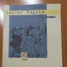 Libros de segunda mano: LIBRO CUENCA CATALOGO JAVIER PAGOLA DIARIO 1998 1999. Lote 237352525