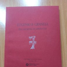 Libros de segunda mano: LIBRO CUENCA CATALOGO EUGENIO F. GRANELL ENCANTADOR DE SERPIENTES. Lote 237352945