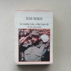 Libros de segunda mano: JUAN BOSCH. Lote 237408460