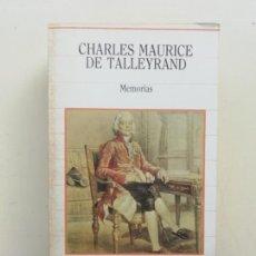 Libros de segunda mano: CHARLES MAURICE DE TALLEYFRAND. Lote 237409530