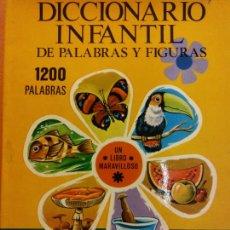 Libri di seconda mano: DICCIONARIO INFANTIL DE PALABRAS Y FIGURAS. PRODUCCIONES EDITORIALES. Lote 237440545