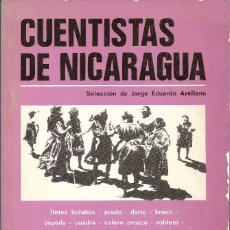 Libros de segunda mano: CUENTISTAS DE NICARAGUA, JORGE EDUARDO ARELLANO (SEL). Lote 237547605