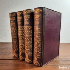 Libros de segunda mano: OBRAS GIOVANNI PAPINI, COMPLETA 4 TOMOS - AGUILAR, 1957, 1ª EDICION, MADRID. Lote 237580100