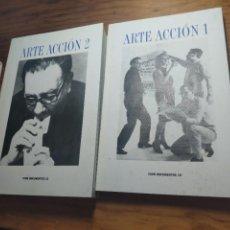 Libros de segunda mano: ARTE ACCIÓN 1958 - 1998 / IVAM DOCUMENTOS 10 - 2 TOMOS.. Lote 237598930