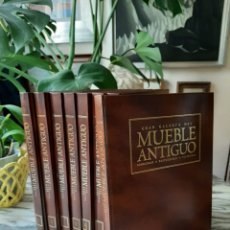 Libri di seconda mano: GRAN GALERÍA DEL MUEBLE ANTIGUO - CONOCERLO - RESTAURARLO - VALORARLO - PLANETA DEAGOSTINI - 8 TOMOS. Lote 237737335