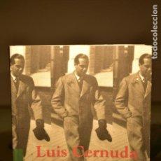 Libros de segunda mano: CATÁLOGO LUIS CERNUDA (1902- 1963) - CENTRO ANDALUZ DE LAS LETRAS/ CONSEJERÍA DE CULTURA. Lote 237774470