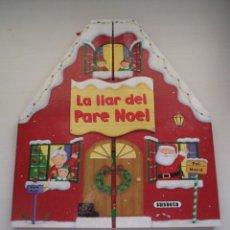 """Libros de segunda mano: LIBRO INFANTILES DE NAVIDAD """"LA LLAR DEL PARE NOEL"""". Lote 237841890"""