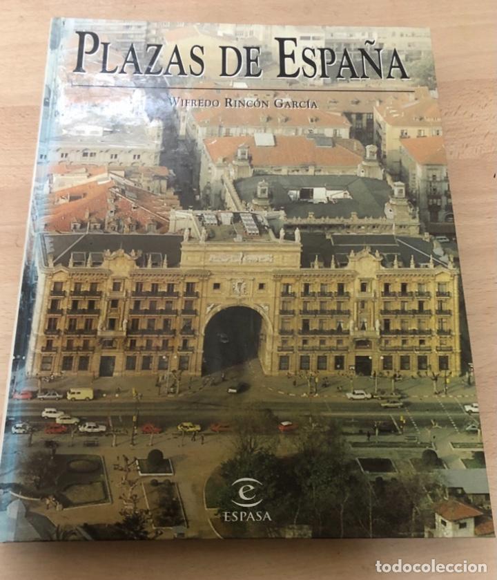 LIBRO PLAZAS DE ESPAÑA , DE WIFREDO RINCÓN GARCÍA . EDITORIAL ESPASA CALPE S.A 1.998 (Libros de Segunda Mano - Bellas artes, ocio y coleccionismo - Otros)