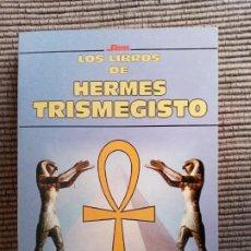 Libros de segunda mano: LOS LIBROS DE HERMES TRISMEGISTO. EDICOMUNICACION 1998.. Lote 237907495
