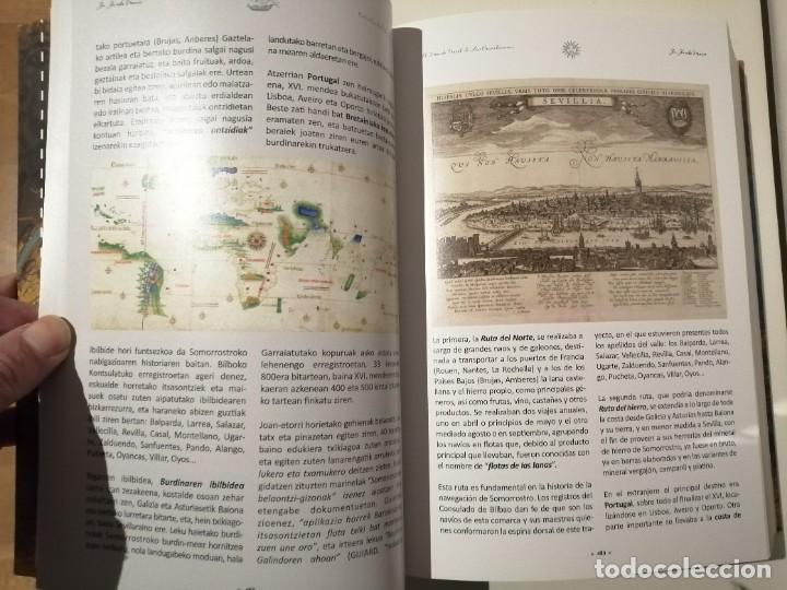 Libros de segunda mano: In Insula Maris 1041 1887 El mundo naval de las encartaciones Portugalete y el Valle de Somorrostro - Foto 2 - 237916795