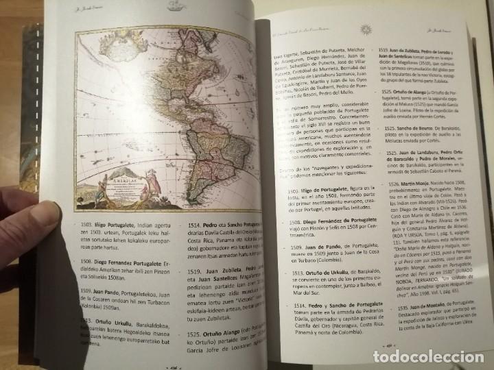 Libros de segunda mano: In Insula Maris 1041 1887 El mundo naval de las encartaciones Portugalete y el Valle de Somorrostro - Foto 3 - 237916795
