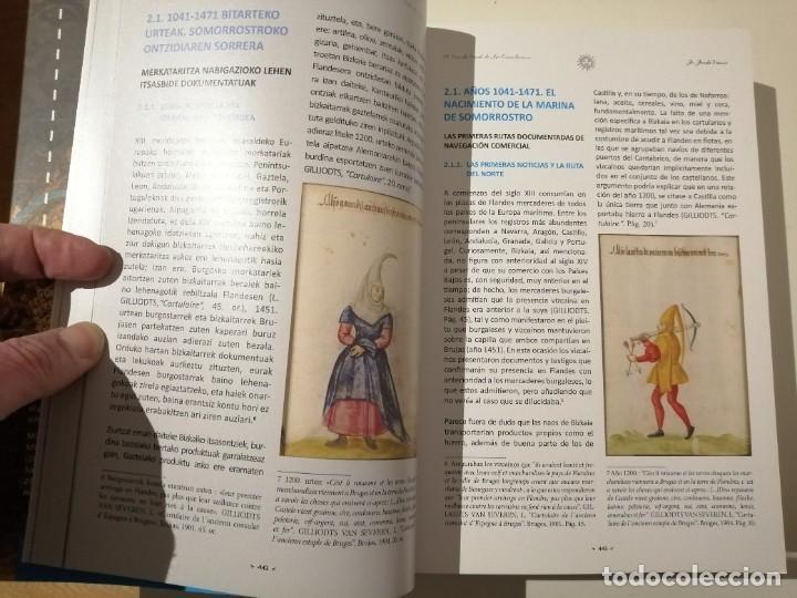 Libros de segunda mano: In Insula Maris 1041 1887 El mundo naval de las encartaciones Portugalete y el Valle de Somorrostro - Foto 4 - 237916795
