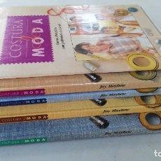Libros de segunda mano: COSTURA Y MODA ORBIS / 4 TOMOS / HOGAR LABORES MUJER MODA / GRAVOL20. Lote 237981460