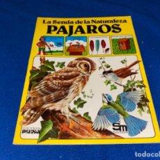 Libros de segunda mano: LIBRO LA SENDA DE LA NATURALEZA PAJAROS EDICIONES PLESA LIBRO ANIMALES JUVENIL. Lote 283017243