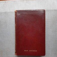 Libros de segunda mano: SAN AGUSTÍN CONFESIONES MAUCCI. Lote 238220955