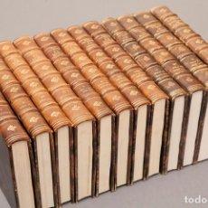 Libros de segunda mano: LA MODA - DESDE LA EDAD MEDIA AL S. XX - MAX VON BOEHN Y Mª LUZ MORALES - 12 TOMOS. Lote 238274180