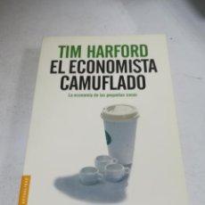 Libros de segunda mano: EL ECONOMISTA CAMUFLADO. TIM HARFORD. ED TEMAS DE HOY. 440 PÁGINAS. 2008. RÚSTICA. Lote 238359670