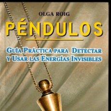 Libros de segunda mano: OLGA ROIG : PÉNDULOS (KARMA7, 2002). Lote 238615775