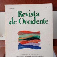 Libros de segunda mano: REVISTA DE OCCIDENTE. 4,99 ENVIÓ CERTIFICADO.. Lote 238643930