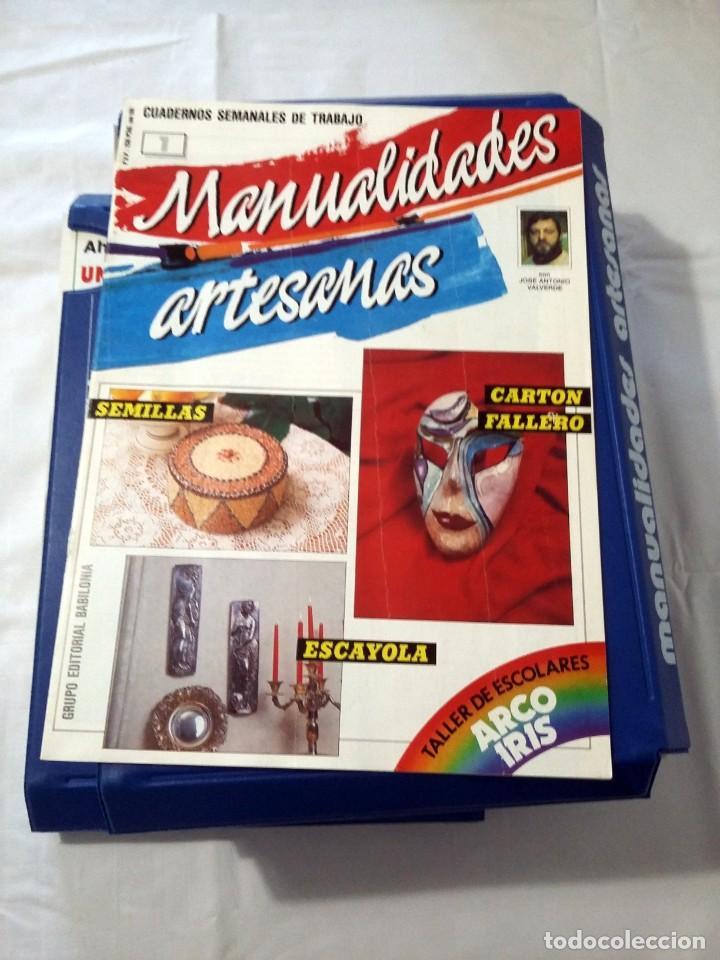 Libros de segunda mano: MANUALIDADES ARTESANAS (COMPLETO CON 75 FASCICULOS ) - Foto 2 - 238671195