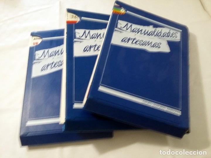 MANUALIDADES ARTESANAS (COMPLETO CON 75 FASCICULOS ) (Libros de Segunda Mano - Bellas artes, ocio y coleccionismo - Otros)