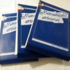 Libros de segunda mano: MANUALIDADES ARTESANAS (COMPLETO CON 75 FASCICULOS ). Lote 238671195