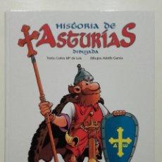 Libros de segunda mano: HISTORIA DE ASTURIAS DIBUJADA - ADOLFO GARCIA - LA NUEVA ESPAÑA - CAJASTUR, 2010. Lote 238683150