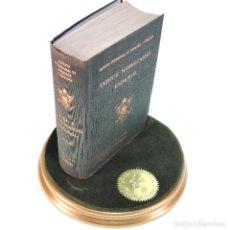 Libros de segunda mano: ÍNDICE NOBILIARIO ESPAÑOL. INSTITUTO DE GENEALOGÍA Y HERÁLDICA. EDICIONES HIDALGUÍA. MADRID. 1955.. Lote 238764875