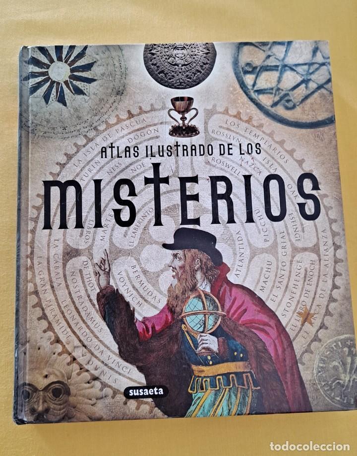 Libros de segunda mano: IRENE BELLINI Y DANILO GROSSI - ATLAS ILUSTRADO DE LOS MISTERIOS - EDICIONES SUSAETA 2010 - Foto 2 - 239443445