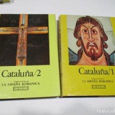 Libros de segunda mano: EDUARD JUNYENT CATALUÑA (2 TOMOS) W5364. Lote 239458855