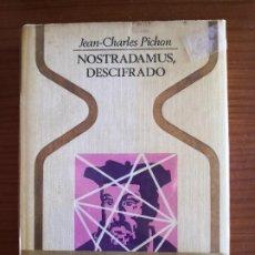 Libros de segunda mano: NOSTRADAMUS DESCIFRADO-ENVÍO CERTIF 6,99- -COLECCIÓN OTROS MUNDOS, PLAZA & JANES. Lote 238519935