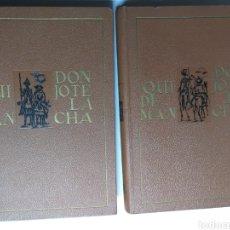 Libros de segunda mano: DON QUIJOTE DE LA MANCHA. ILUSTRACIONES RAMÓN AGUILAR MORE . EDICIONES NAUTA. Lote 239662965