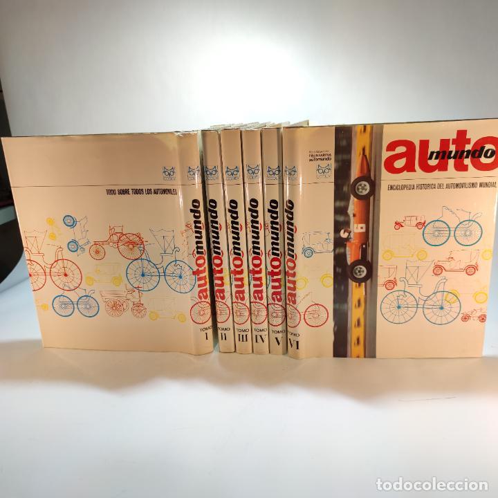 Libros de segunda mano: Enciclopedia histórica del automovilismo mundial. Auto mundo. Pinifarina. 6 tomos. Codex. 1969. - Foto 2 - 239847525