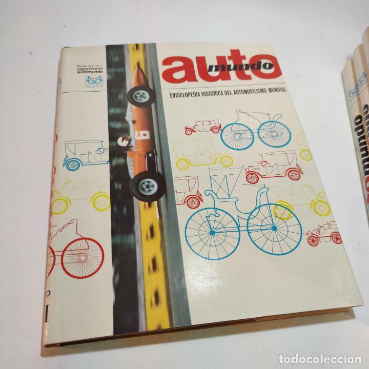 Libros de segunda mano: Enciclopedia histórica del automovilismo mundial. Auto mundo. Pinifarina. 6 tomos. Codex. 1969. - Foto 3 - 239847525