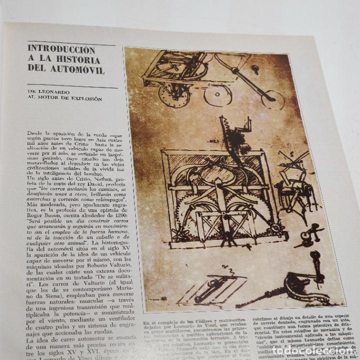 Libros de segunda mano: Enciclopedia histórica del automovilismo mundial. Auto mundo. Pinifarina. 6 tomos. Codex. 1969. - Foto 8 - 239847525