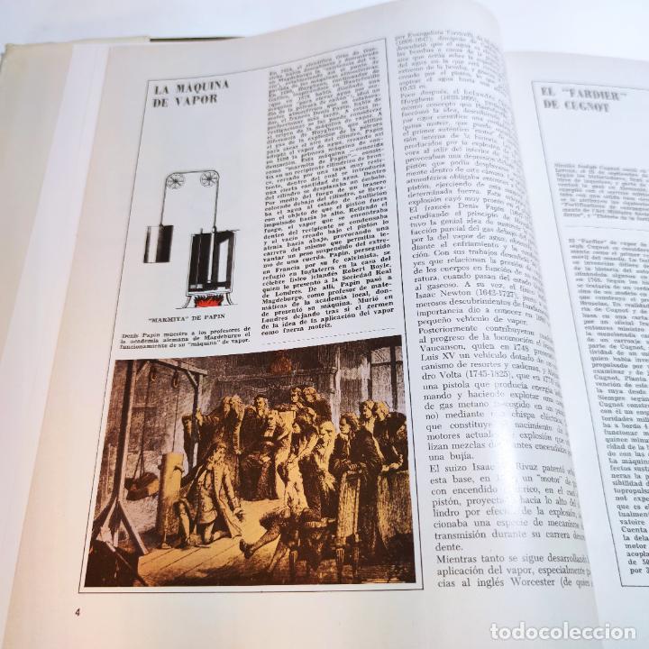 Libros de segunda mano: Enciclopedia histórica del automovilismo mundial. Auto mundo. Pinifarina. 6 tomos. Codex. 1969. - Foto 9 - 239847525
