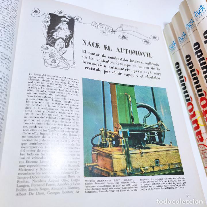 Libros de segunda mano: Enciclopedia histórica del automovilismo mundial. Auto mundo. Pinifarina. 6 tomos. Codex. 1969. - Foto 10 - 239847525