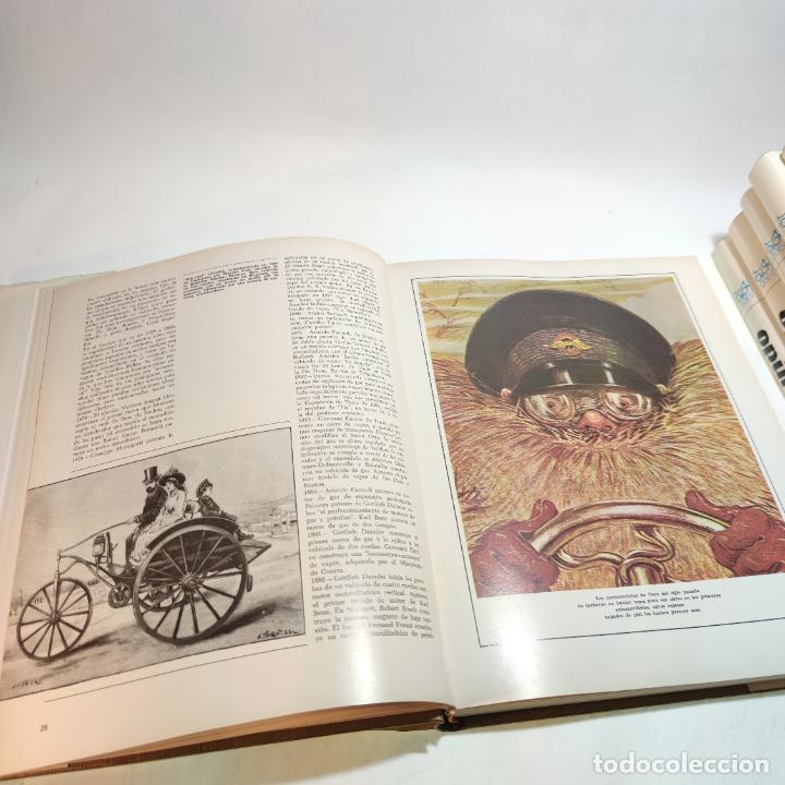 Libros de segunda mano: Enciclopedia histórica del automovilismo mundial. Auto mundo. Pinifarina. 6 tomos. Codex. 1969. - Foto 12 - 239847525