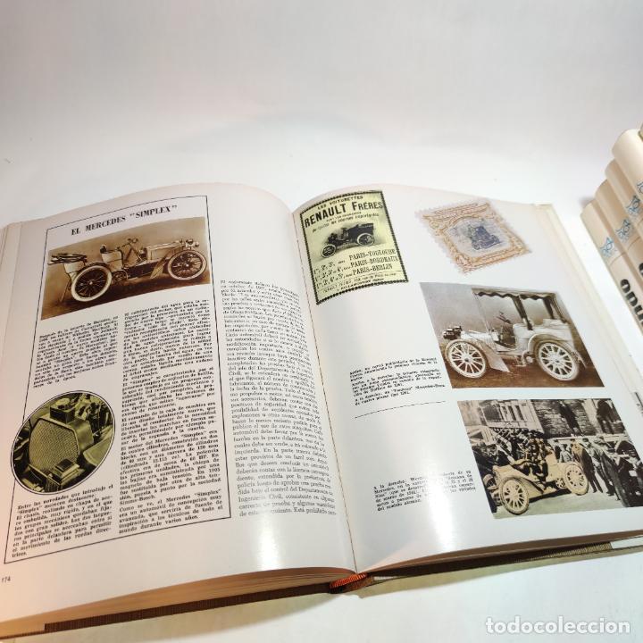 Libros de segunda mano: Enciclopedia histórica del automovilismo mundial. Auto mundo. Pinifarina. 6 tomos. Codex. 1969. - Foto 18 - 239847525