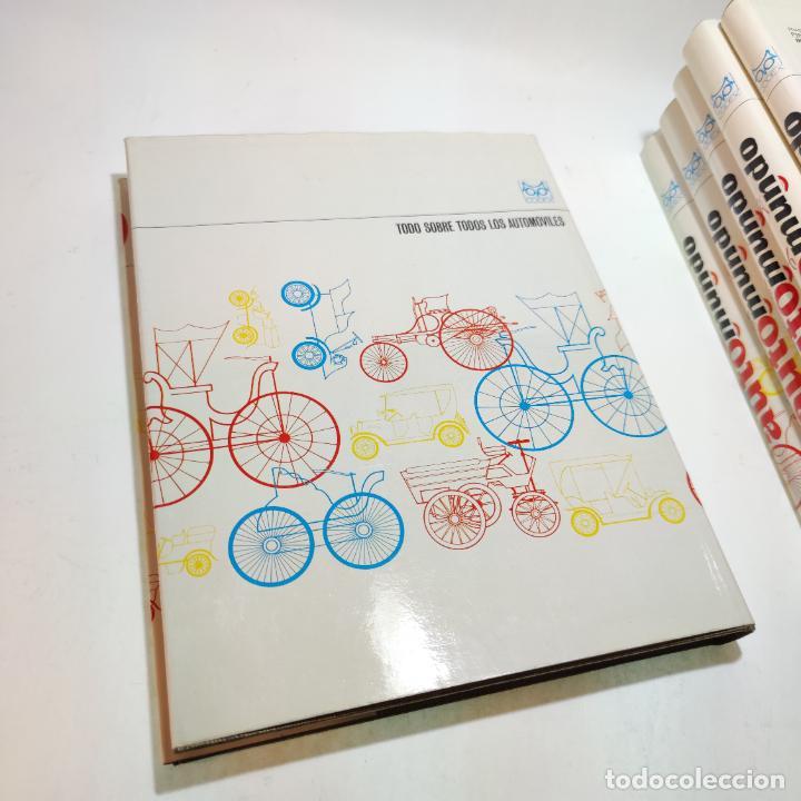 Libros de segunda mano: Enciclopedia histórica del automovilismo mundial. Auto mundo. Pinifarina. 6 tomos. Codex. 1969. - Foto 19 - 239847525