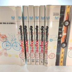 Libros de segunda mano: ENCICLOPEDIA HISTÓRICA DEL AUTOMOVILISMO MUNDIAL. AUTO MUNDO. PINIFARINA. 6 TOMOS. CODEX. 1969.. Lote 239847525