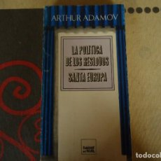 Libros de segunda mano: LA POLITICA DE LOS RESIDUOS SANTA EUROPA. Lote 239850190