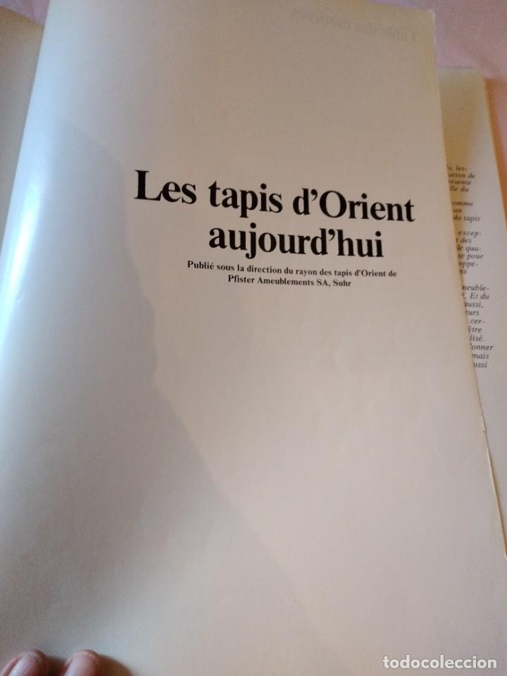 Libros de segunda mano: libro les tapis dorient aujourdhui. años 70,frances - Foto 2 - 239984495