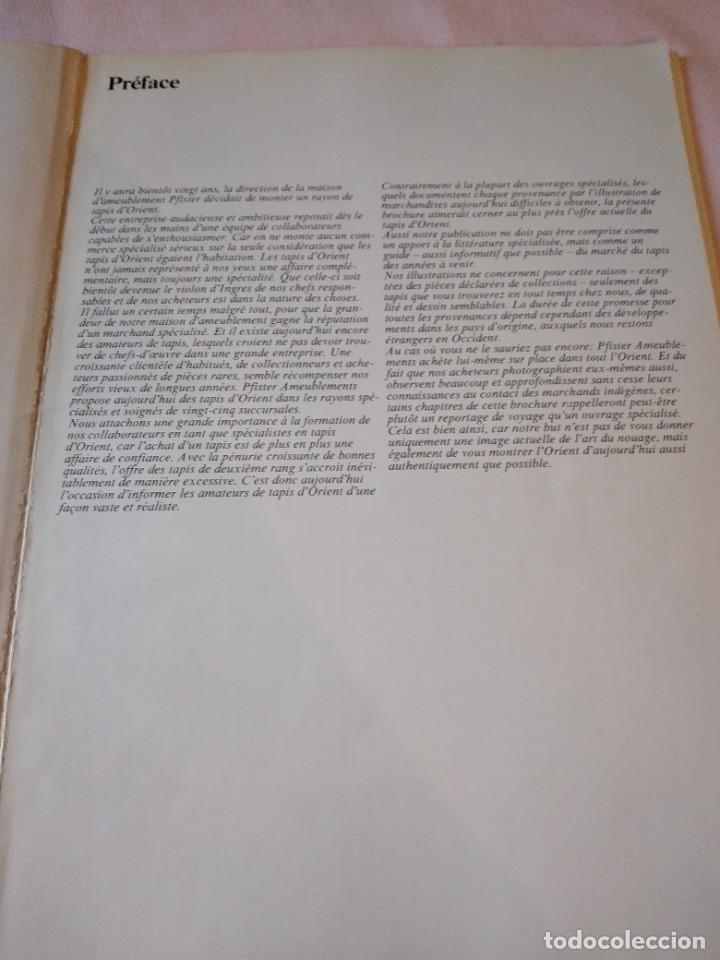 Libros de segunda mano: libro les tapis dorient aujourdhui. años 70,frances - Foto 3 - 239984495